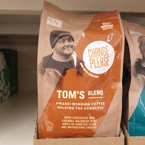 The Change Please products have grown out of a social enterprise project from The Big Issue.