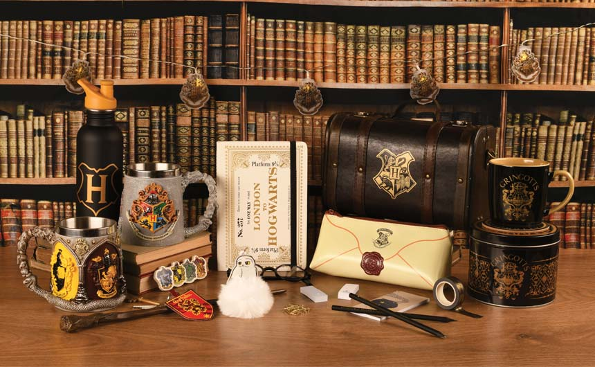 New Harry Potter products are among Pyramid's new Q1 launches.