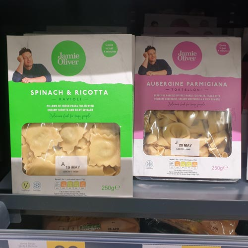 Jamie Oliver is a well established brand in the FMCG category.
