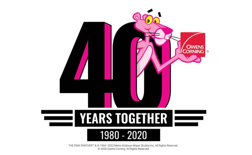 The Pink Panther and Owens Corning partnership is a great example of a simple but effective creative idea working in licensing.