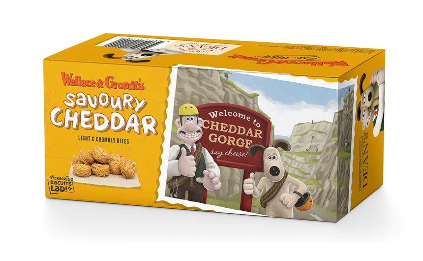 Dean's of Huntly has launched its new collaboration with Aardman and Wallace & Gromit.