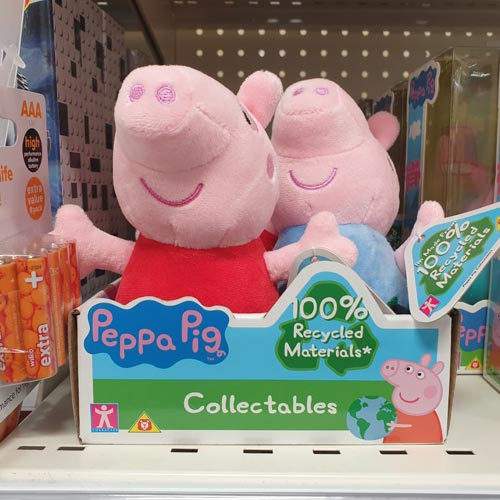 Character Options' Peppa Pig products were stocked in Wilko.