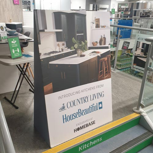 The exclusive deal with Country Living and House Beautiful is a key one for Homebase.