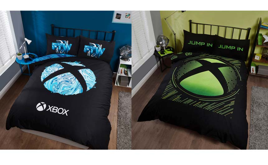 Xbox bedding from Dreamtex has launched in both Asda and Next.