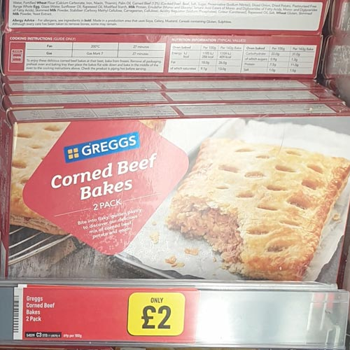 It was a bold move for Iceland to develop a range featuring another retailer, but the Greggs range has proved a hit.