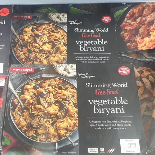 The Slimming World range is a great example of a retailer identifying a gap in the market and using a brand to fill it.