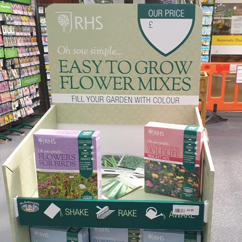 Making gardening more accessible to more consumers is aided by products such as 'oh sow simple' seed boxes.