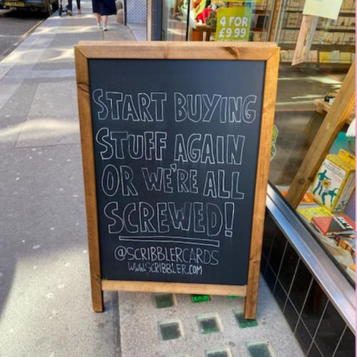 The message from Scribbler is one that is worth noting.