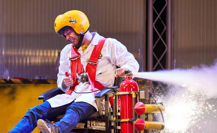 The Brainiac live show has opened at Butlin's, showing its durability and staying power.