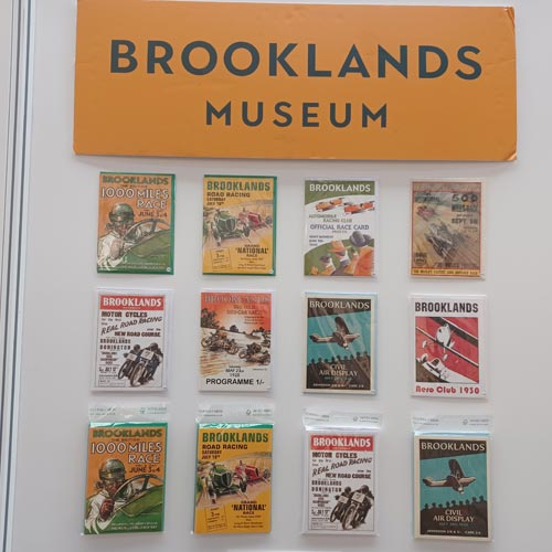 The Brooklands Museum range from Clanna Cards takes inspiration from the archive.