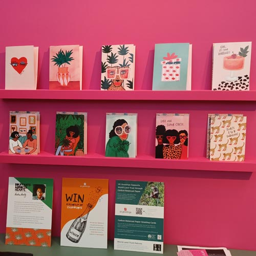 The Kendra Dandy range was a new launch from UK Greetings at PG Live.