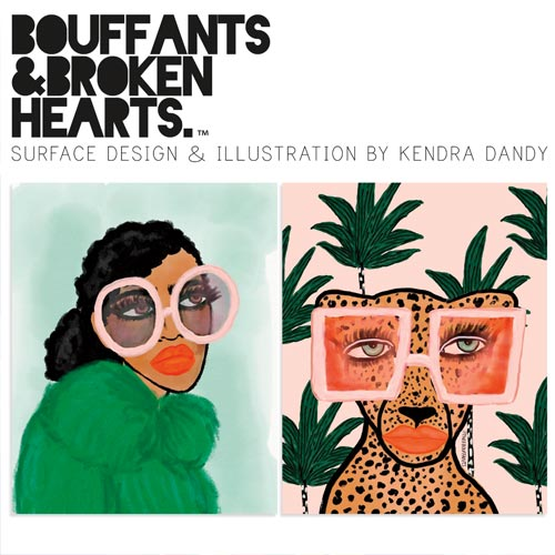 Bouffants & Broken Hearts by Kendra Dandy will debut on UK Greetings' stand at the show.