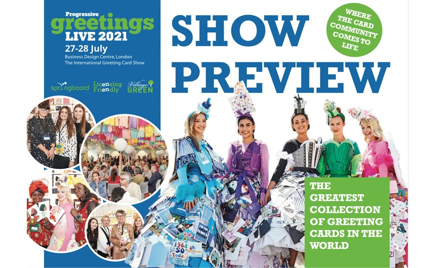 PG Live will be a celebration of greeting cards, giftwrappings as well as select partyware and gifts companies, plus trade suppliers, including artists agents.