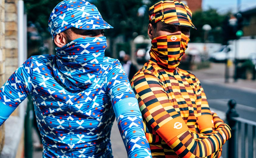 Milltag's cyclewear range is just one example of how the TfL assets can be used creatively.