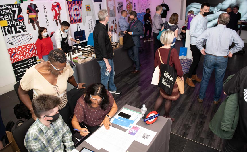 The London Lines event showcased the ways TfL and TSBA have worked with licensing partners.