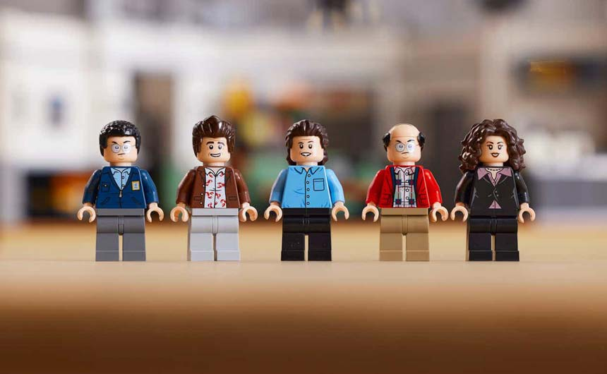 Classics 1990s sitcom Seinfeld has been celebrated with a LEGO Ideas set.